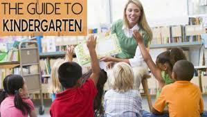The Parent Guide to Kindergarten Scholastic