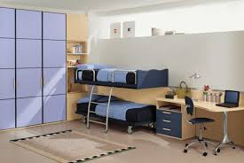 kids bedroom interior design with modern furniture also simple bedroom furniture purple and brown color tone and kids studying room furniture plus modern amusing quality bedroom furniture design