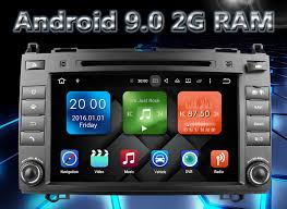 <b>Eunavi 2 Din 8</b>'' Android 9.0 Car DVD Player radio stereo gps navi ...