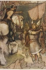 beowulf man< >wolf