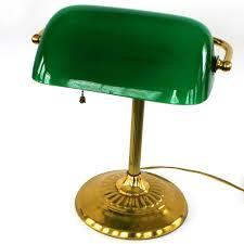 green office desk. lamps for office vintage bankers lamp brass glass kelly green emerald desk e