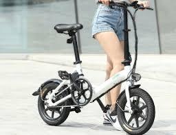 <b>FIIDO D3</b> Mini Aluminum Alloy Folding Electric Bike for $429.99