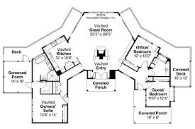 Prairie Style House Plans   Edgewater     Associated DesignsPrairie Style House Plan   Edgewater     Floor Plan