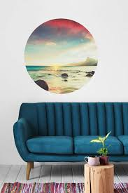 sun wall decal trendy designs: view in gallery sunset wall decal from urban outfitters
