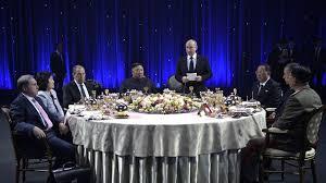 Путин подарил Ким Чен Ыну <b>набор стаканов с подстаканниками</b>