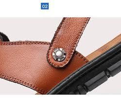 <b>ZYYZYM</b> Men Sandals 2019 Summer Pu Leather <b>Fashion Trend</b> ...