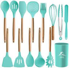 MIBOTE 14PCS Silicone Cooking Kitchen Utensils ... - Amazon.com
