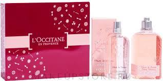 <b>L'Occitane Cherry Blossom</b> - <b>Набор</b> (edt/75ml + shg/250ml ...