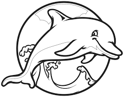 Small Picture Dolphin Heart Drawings Dolphin Coloring Pages Draw special