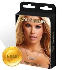 <b>Ann</b> Devine «Bitch» - золотистая <b>цепочка с подвеской</b> в виде ...