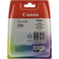 Комплект оригинальных <b>картриджей Canon PG</b>-<b>40</b> (с черными ...