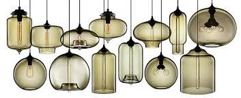 niche moderns blown glass pendant lights blown glass pendant lights