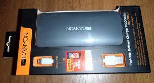 Обзор от покупателя на <b>Внешний аккумулятор CANYON</b> CNE ...