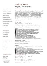 Curriculum Vitae English Sample Examples Of Good And Bad Cvs University Of Kent Cv English Sample