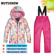 <b>Ski Suit Women</b> Brands <b>2019</b> New Snow Windproof Waterproof ...