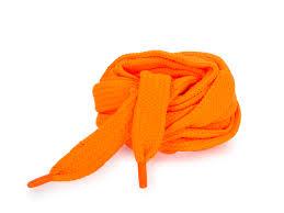 <b>Шнурки Corbby</b> плоские оранжевые <b>120 см</b> - Сеть спортивных ...