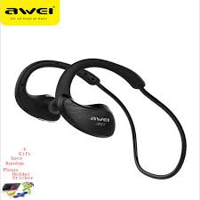 <b>Awei</b> A885BL <b>Bluetooth</b> Headset Headphones <b>Sports</b> Wireless IPX4 ...