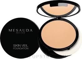 Mesauda Milano Skin Veil Foundation - <b>Стойкое компактное</b> ...