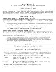 sample technical resumes  tomorrowworld cotechnical resume format computer technician resume format