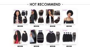 klaiyi hair deep wave bundles with closure 4pcs indian extension 100 remy human