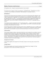 blank construction contract shopgrat sample blank construction contract template