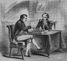 napoleon archives finding napoleon napoleon bonaparte playing chess on st helena