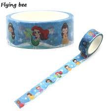 <b>Flyingbee 15mmX5m</b> Paper <b>Washi</b> Tape The Lion King Cartoon ...