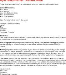 Resume Cover Letter For Teachers Resume Example  Basic Resume Cover Letter Example Best   Resume  Curriculum Adjunct Professor
