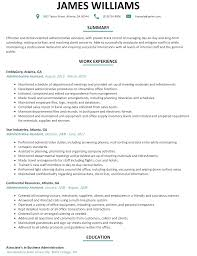 administrative assistant resume sample com