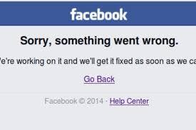 Resultado de imagen para caida de facebook