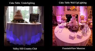 uplighting colors sheraton uplighting cake table underlighting beautiful color table uplighting