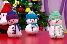 Make a <b>sock snowman</b> | LearnEnglish <b>Kids</b> | British Council