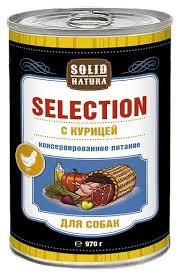 Корм для собак <b>Solid Natura Selection</b> для собак - <b>Курица</b> ...