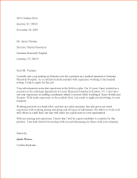 medical assisting cover letter budget template letter medical assistant cover letter sample medical assistant cover letter