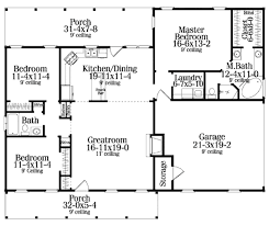 House Plan Small Bedroom Ranch House Plan The House Plan Siteadd