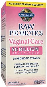 Garden of Life RAW Probiotics Vaginal Care Shelf ... - Amazon.com