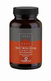 <b>Easy Iron 20mg</b> Complex 100's: The Natural Dispensary