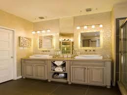 traditional bathroom lighting ideas white free standin white led light frameless square wall mirror stone tile backsplash unique white vessel sink bathroom lighting ideas bathroom traditional