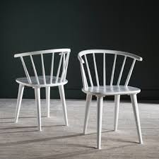 metropolitan dining gatria white side chairs safavieh country classic dining blanchard white side chairs set of