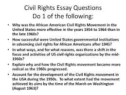 civil rights movement essays   drureportwebfccom civil rights movement essays