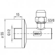 <b>Nobili угловой</b> кран с фильтром 1/2 в Новосибирске по доступной ...