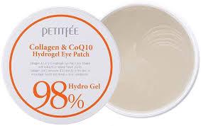 Petitfee <b>Гидрогелевые патчи с</b> коллагеном Collagen & Co Q10 ...