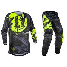 <b>2017 Fly Fish</b> Pants & Jersey Combos <b>Motocross MX</b> Racing Suit ...
