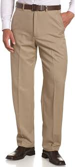 Haggar <b>Mens Cool</b> 18 Hidden Expandable-Waist Plain-Front <b>Pant</b> ...