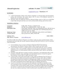 resume sql server developer ahmad asghariancell 860 751 8460 br aasghariancox game programmer resume