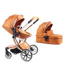 Voondo <b>High landscape stroller can</b> sit reclining folding light two ...