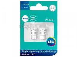 <b>Лампа Philips Ultinon LED</b> W5W 6000K 11961ULWX2 (2 штуки ...