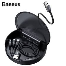 Shop Baseus Car sharing charging station adapter with <b>3 in 1 Micro</b> ...