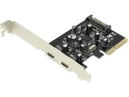 <b>Контроллер Orient PCI Ex</b> 2ext x USB 3 1 Gen2 Type A Type C oem ...