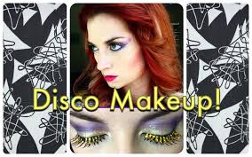vine 1970 39 s sparkly disco makeup tutorial by cherry dollface
